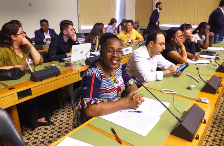 Chantal Ahémou, (Riddef) : « Pourquoi les femmes battues ne parlent pas »