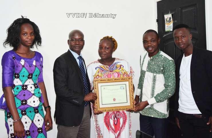 Deuxième édition du Prix CAIDP : Marina Kouakou remporte le prix de l'encouragement Kebe Yacouba pour la promotion des nouveaux médias