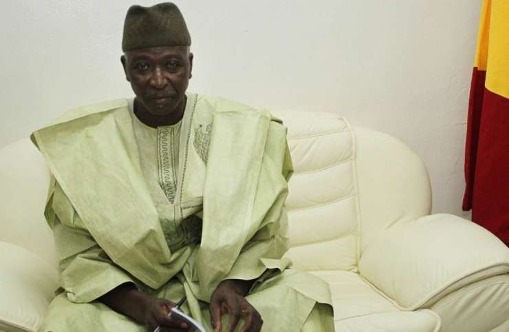 Mali : le président civil de la transition, Bah N'Daw, investi