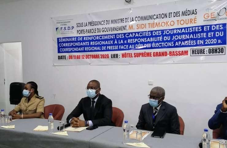 Côte d'Ivoire/Présidentielle 2020 : les journalistes outillés pour une meilleure couverture