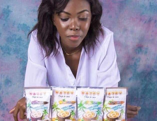 Micro industrie :  la noix de coco ou le trésor d'Isabelle Nayou
