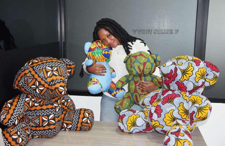Assana Diaby, la fabricante de ''doudous'' made in Côte d'Ivoire