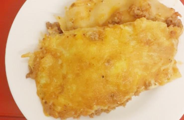 Recette proposée par une internaute : Cooking with Madilasagne à la viande hachée