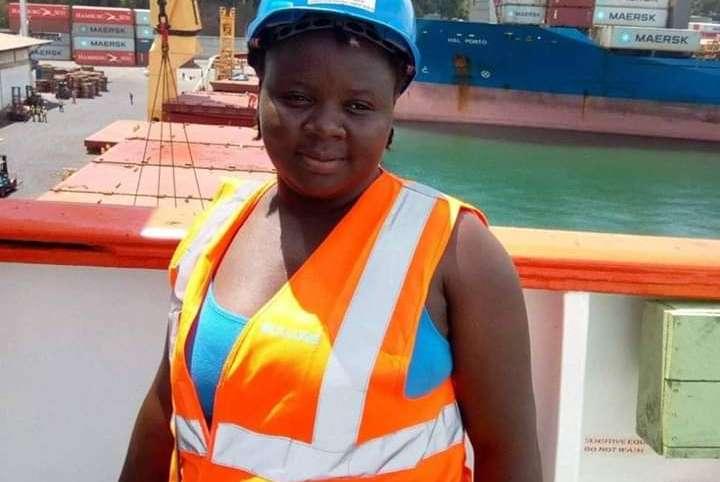 Port de San Pedro: Blandine Yebarth, profession docker