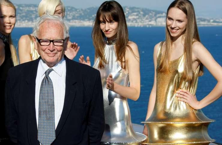 Haute couture : Décès du créateur français Pierre Cardin