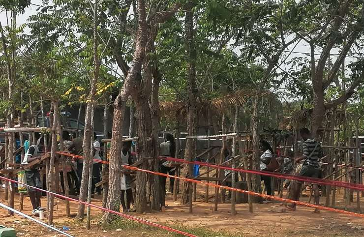 Gbomizambo : des tisserands bien organisés