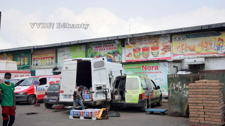 Vivrier : la percée des supermarchés