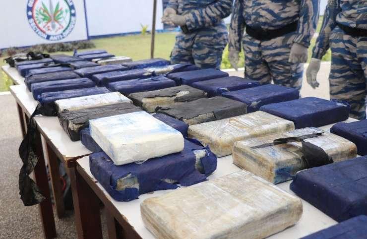 Côte d'Ivoire : une tonne de cocaïne saisie à Cocody