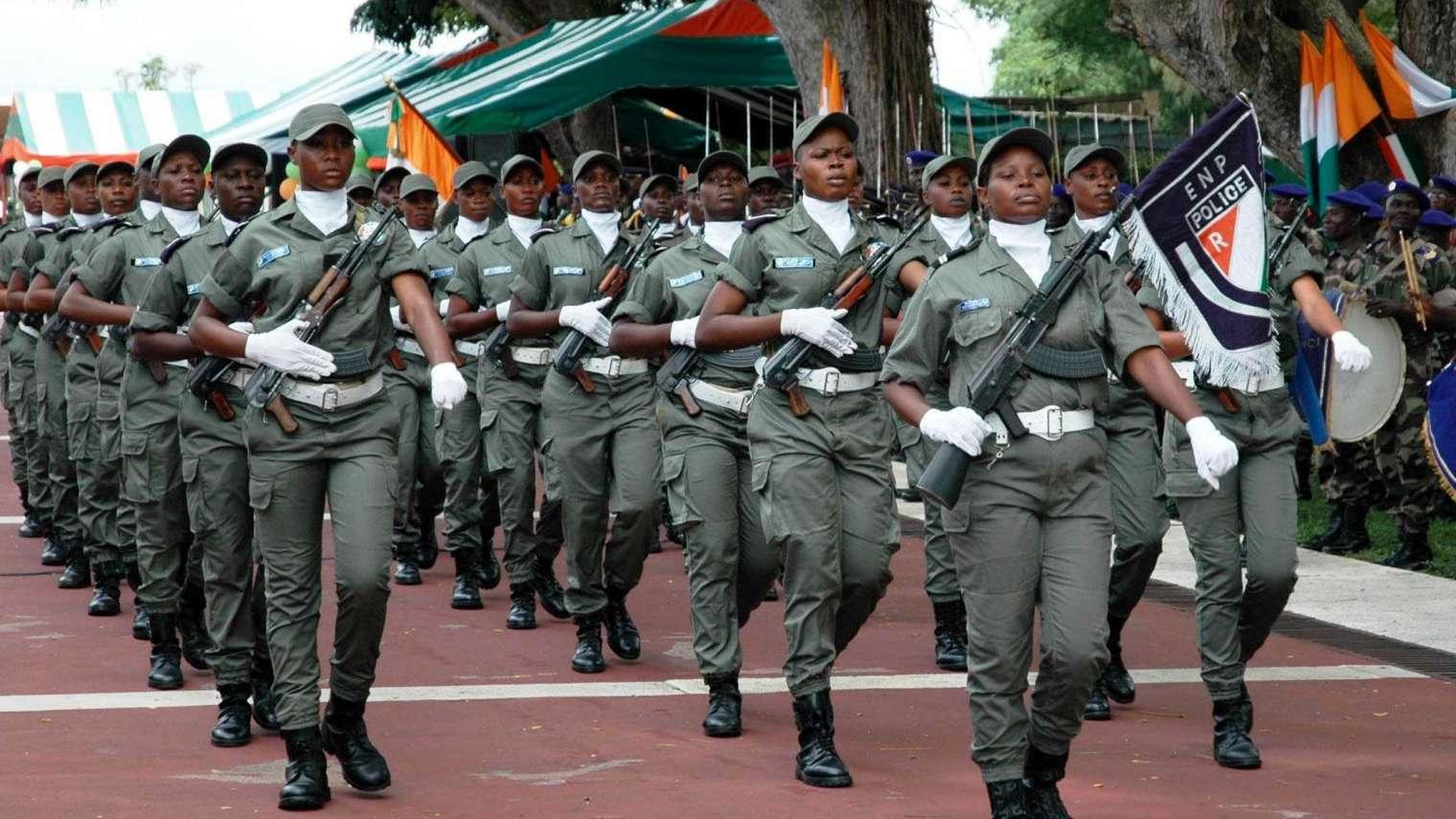 Côte d'Ivoire : vers un taux de 30% de militaires femmes ?