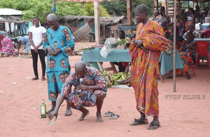 Culture : le sens de la libation chez les Akan