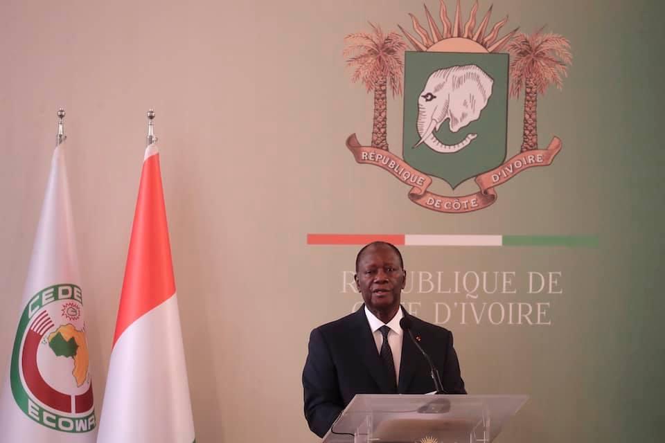 Côte d'Ivoire : Alassane Ouattara réaffirme son engagement pour de la paix