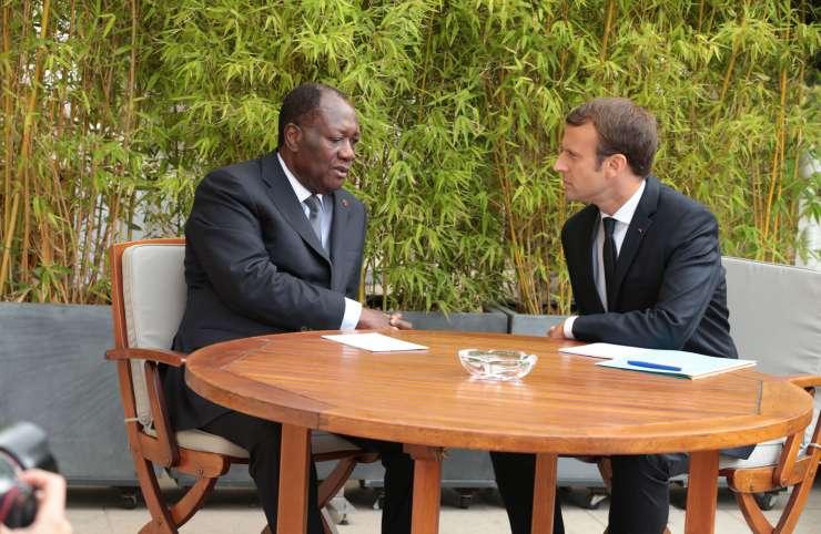 Côte d'Ivoire-France : Ouattara rencontre Macron, mercredi