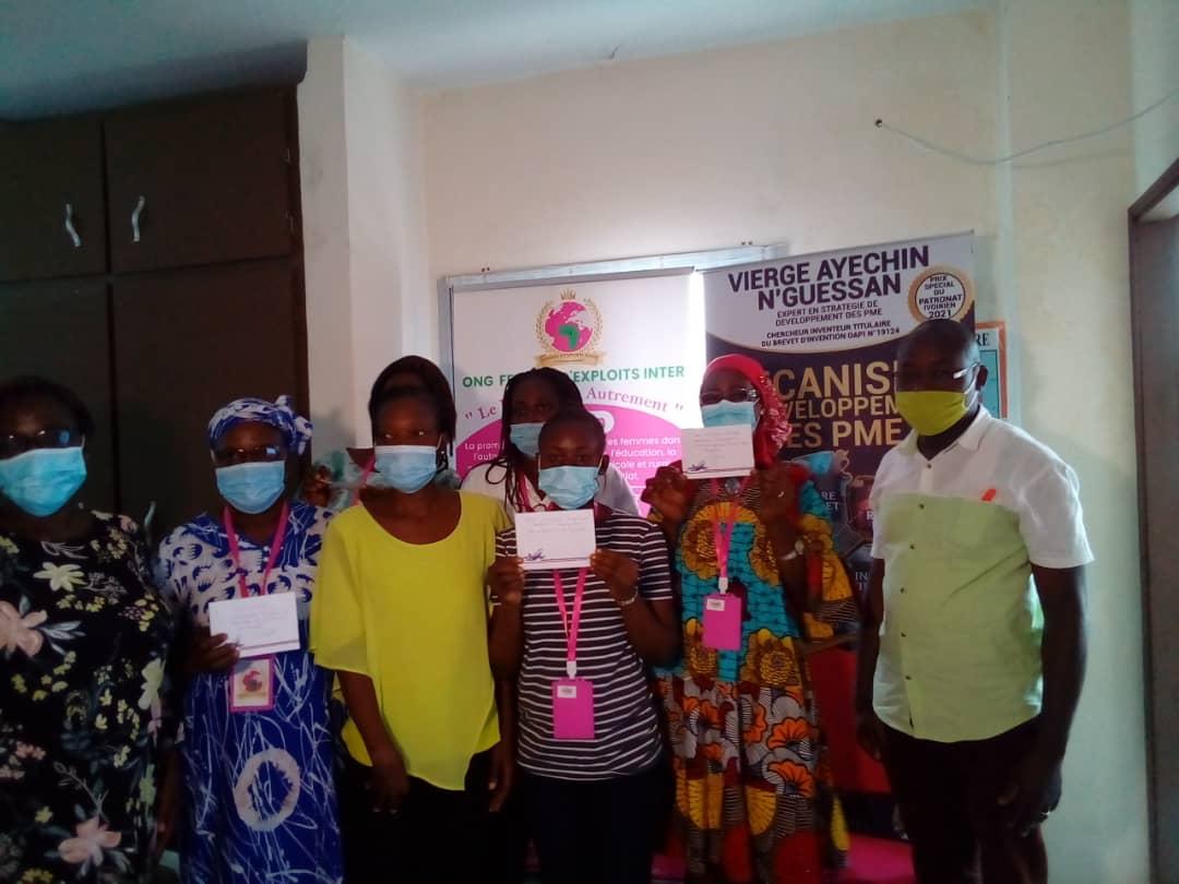 JIF 2021 : L'ONG femmes d'exploits Inter appuie les femmes du secteur informel