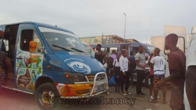 Abidjan/Fluidité routière : l'incivisme en images