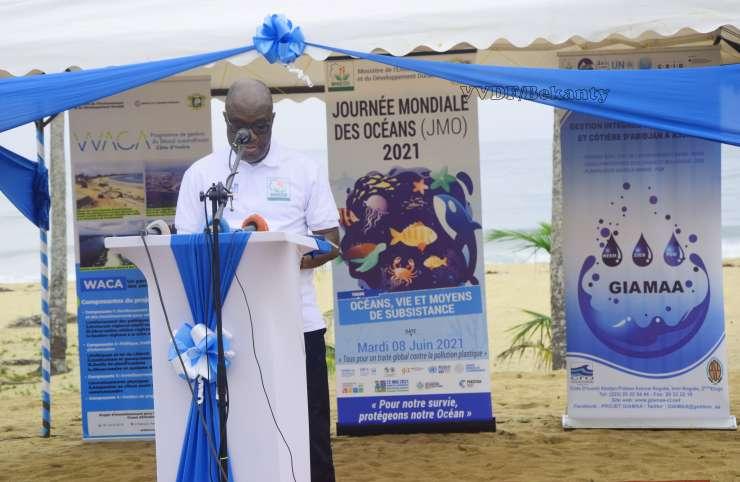 REEMCI/ Le colonel Niagne Dibi rappelle le processus d'élaboration du document (Discours)