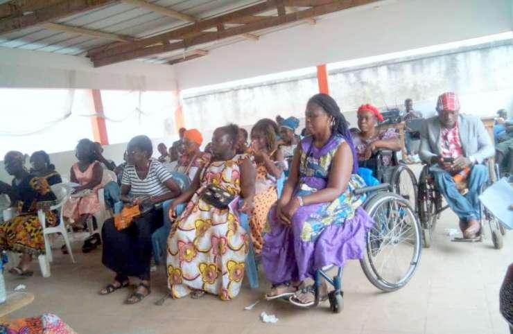 Autonomisation : L'AHO-CI s'active pour l'autonomisation financière des femmes en situation de handicap