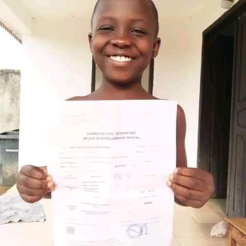 Kassy A. Imann : zoom sur la candidate qui obtient le CEPE, à 7 ans !