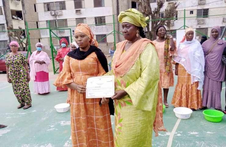 Remise de diplômes: l'association Siguidya donne des parchemins aux auditrices de la maison digitale de Treichville