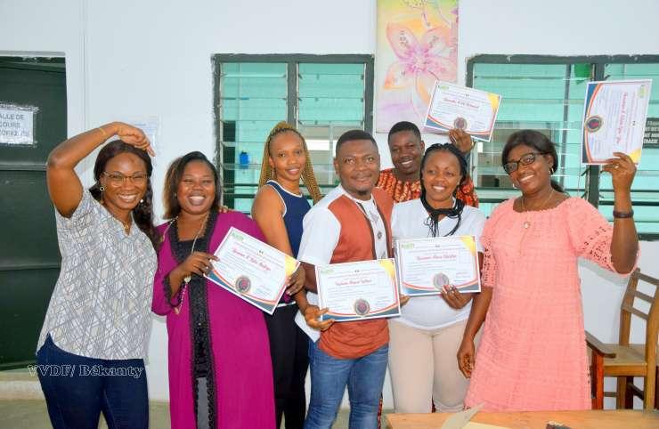 ONG « Ivoire Bagnon », 1ère édition du renforcement de capacité en coiffure.