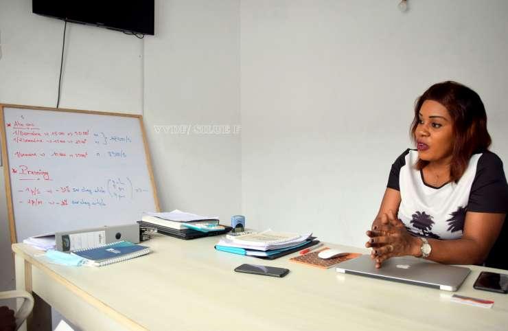 Rebecca Affoh fondatrice de EASY CI: Digitalisé le pressing et la cordonnerie.