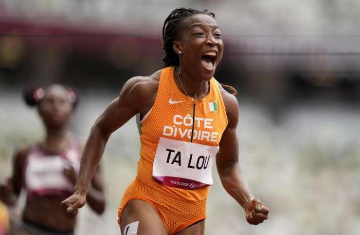JO/Finale du 200 m d'Athlétisme : l'Ivoirienne Ta Lou qualifiée
