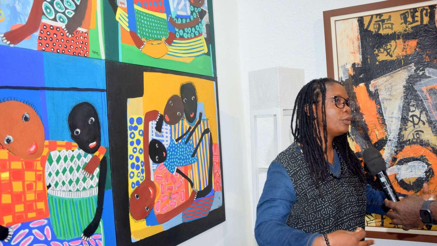 Adjaratou OUEDRAGO, une valeur certaine des femmes peintres