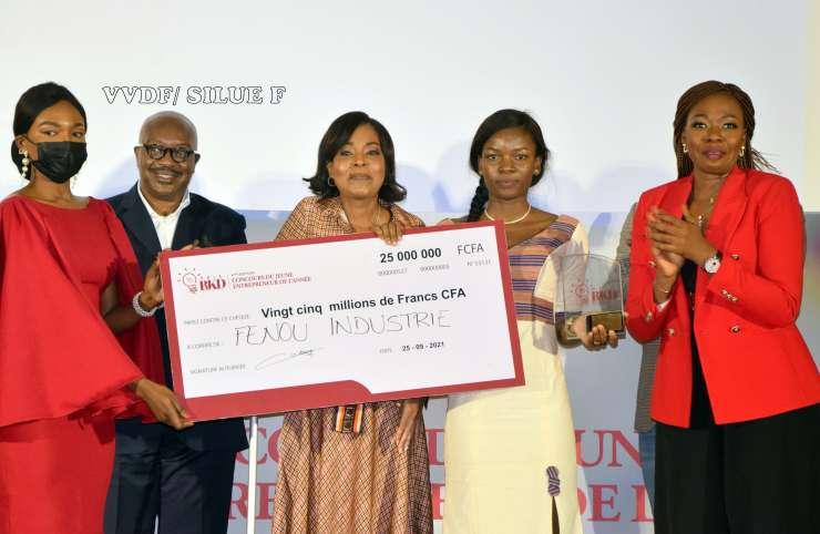 Grand Prix BJKD 2021, une femme sacrée «meilleur entrepreneur jeune».