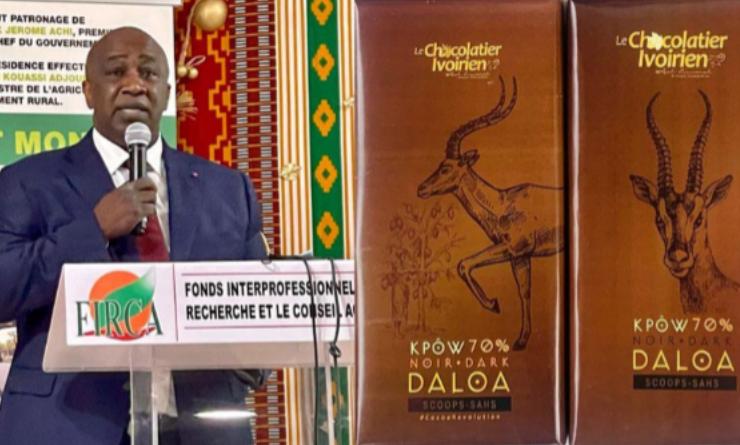 Côte d'ivoire:  transformation locale du cacao